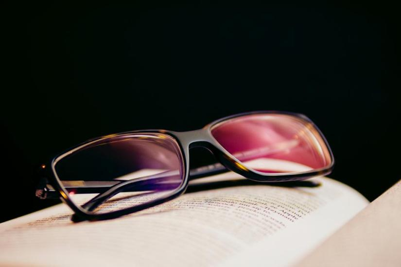 Reading eyeglasses