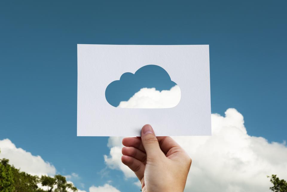 Cloud in a cutour